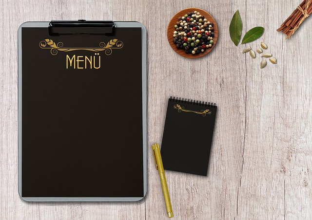 Menu Writing Pad Table Terminal 183 Free Photo On Pixabay