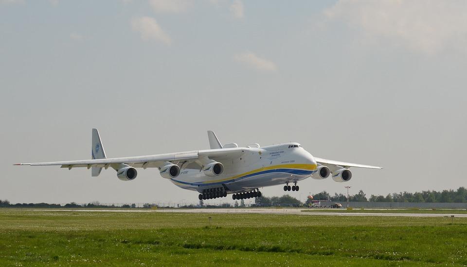 Lotnisko, Antonov, Samolot, Mucha, Pasażerów, Praga