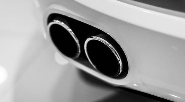 car tail pipe