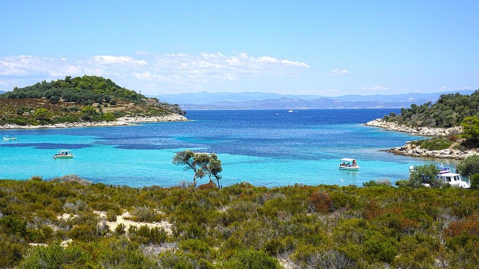 Sea, Water, Seashore, Beach, Travel, Chalkidiki, Greece