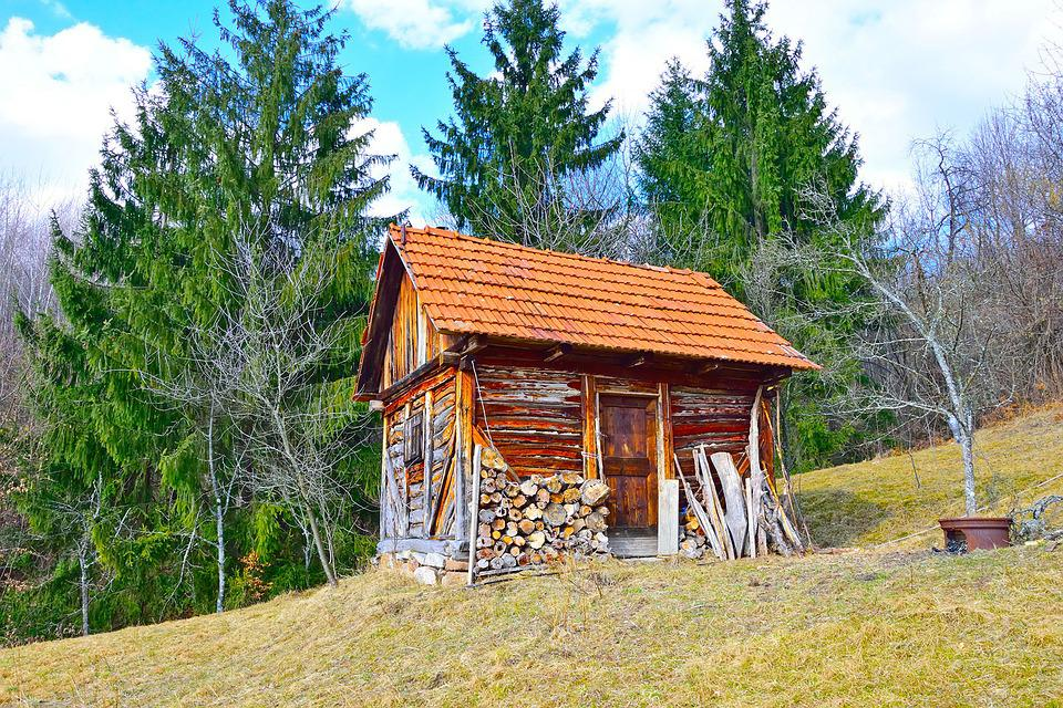 Image result for wood house