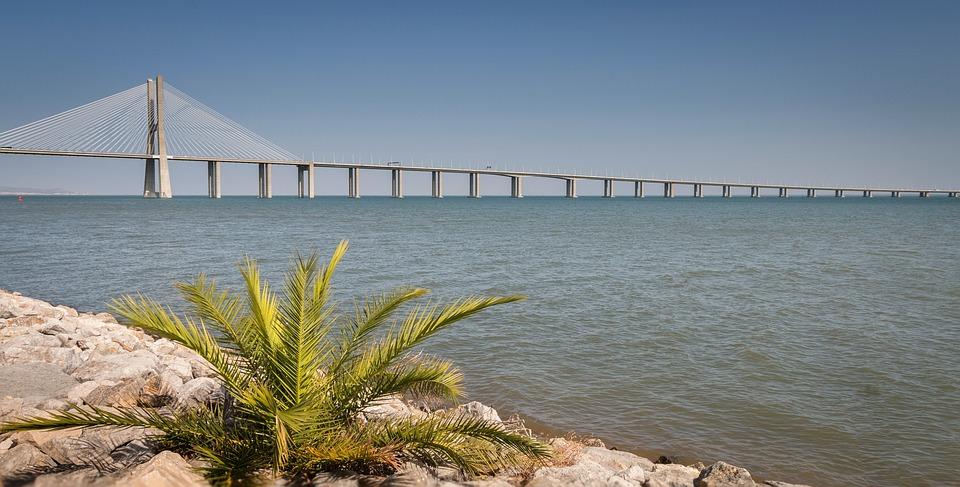 El Puente Vasco Da Gama, Puente Vasco De Gama, Lisboa