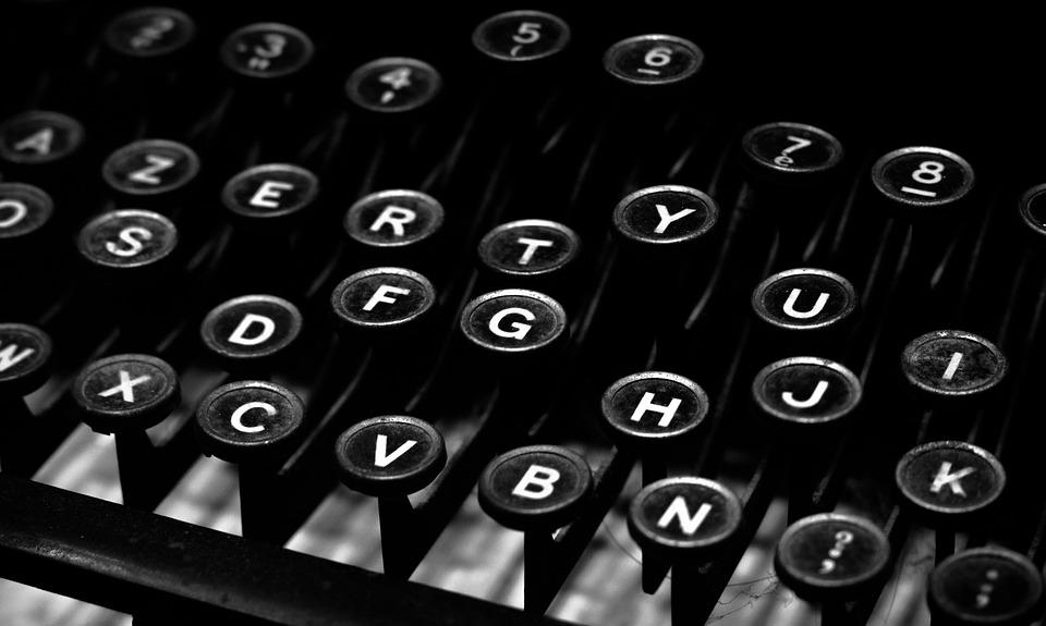 Typewriter Type Alphabet Free Photo On Pixabay