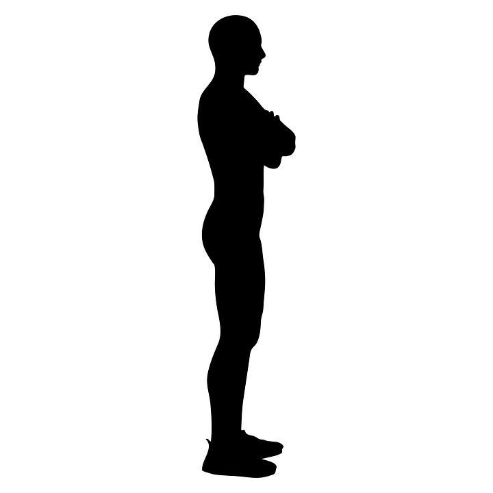 standing up position