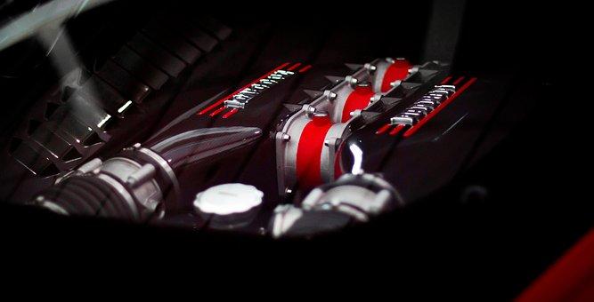 法拉利458 Speciale, 法拉利车引擎, 发动机, 法拉利458引擎