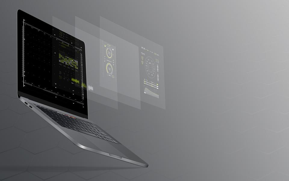 Laptop, Notebook, Macbook, Pro, Work, Technology