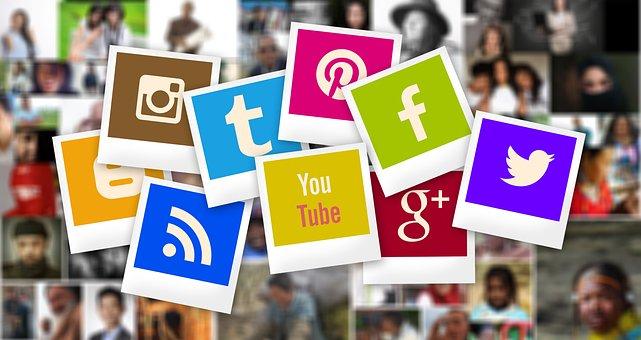 Ludzi, Google, Polaroid, Pinterest, Wzór