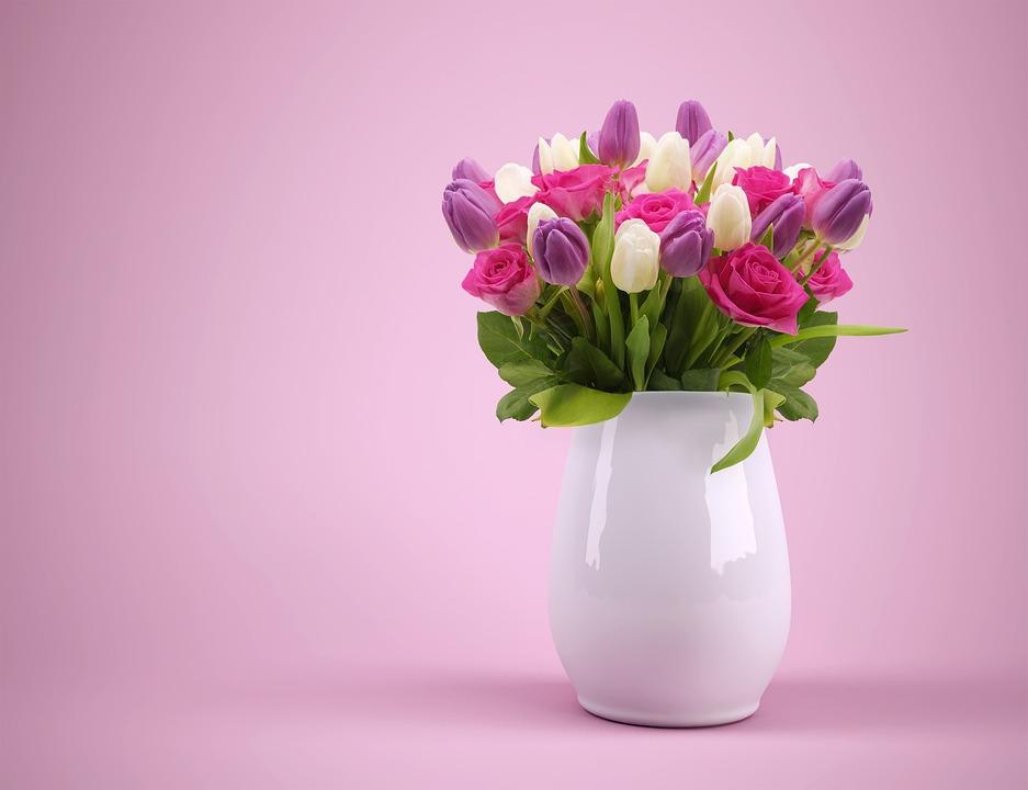 Buchet Vază Flori Ghiveci De Fotografie Gratuită Pe Pixabay