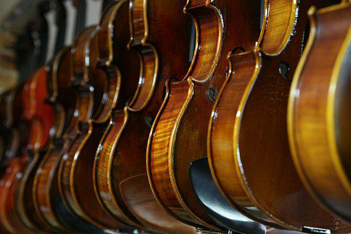Sound, Violin, Music, Instrument Stores