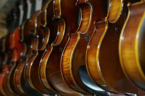 Sound, Violin, Music, Instrument Stores