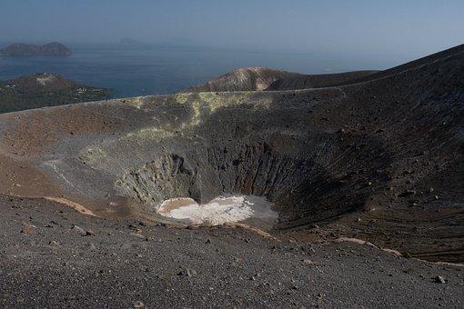 Vulcano, Paesaggio, Viaggiare, Natura
