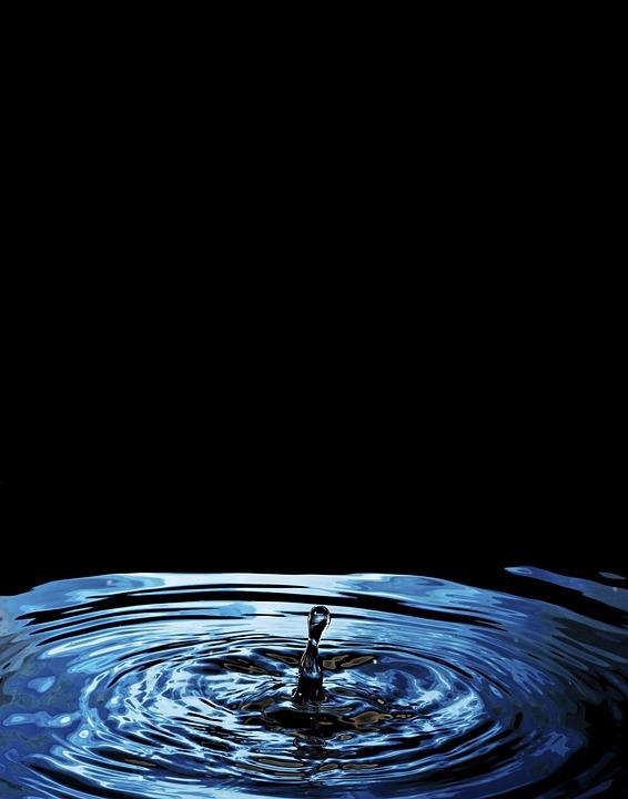 ドロップ, スプラッシュ, ウェット, H2O, 純度, 雨, バブル, クリーン, 流動性, 運動