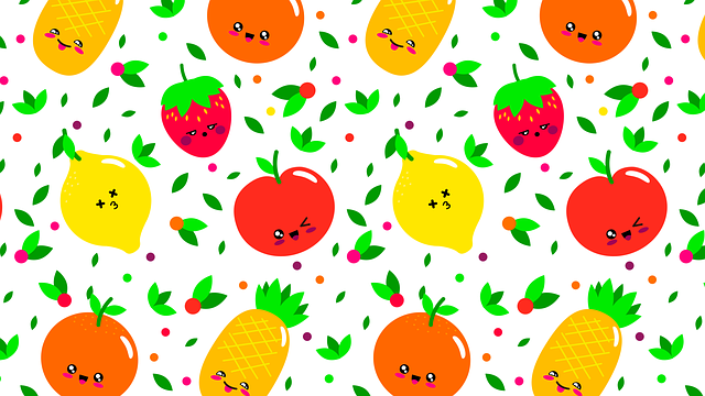 pattern fruit fruits 183 free vector graphic on pixabay