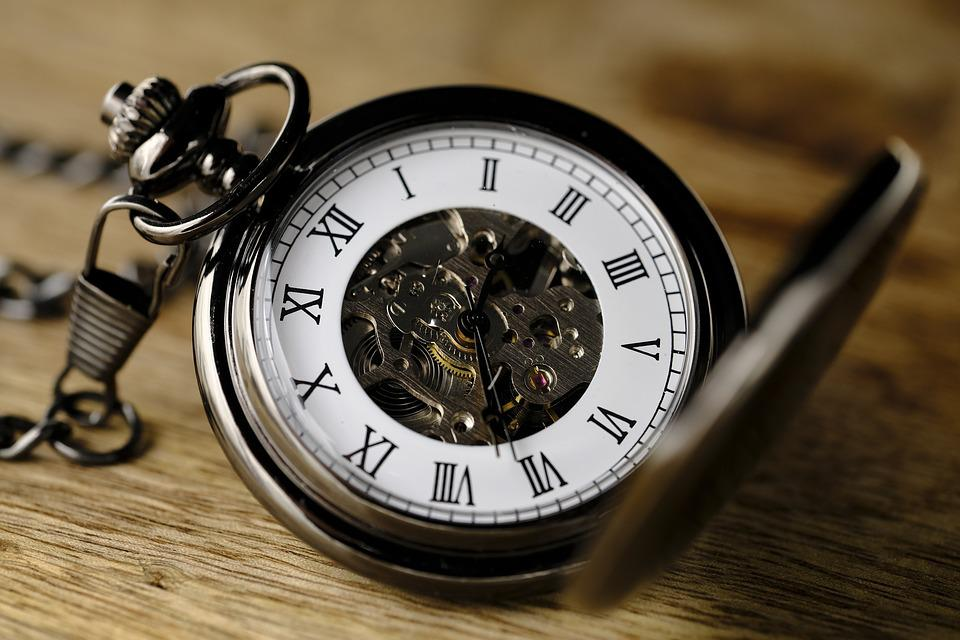 Clock, Pocket Watch, Movement, Watchmaker, Time Of