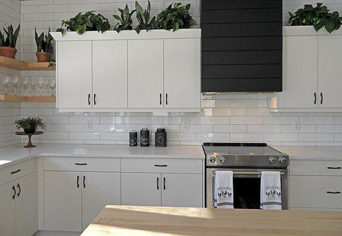 Kitchen, Stove, Cabinets, Appliance