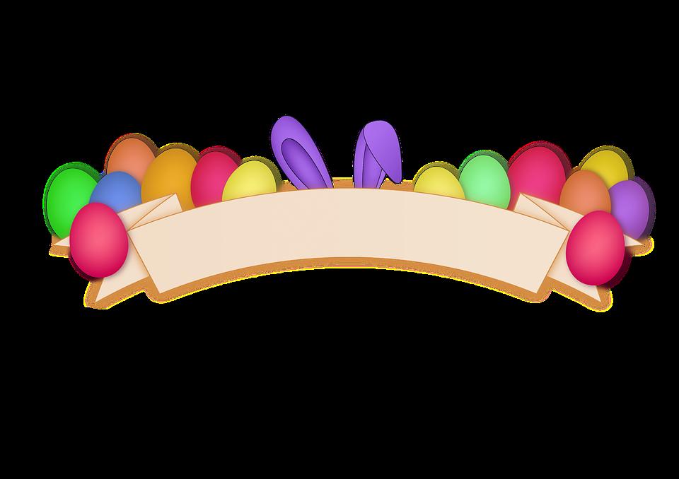 Ostern Eier Banner · Kostenloses Bild auf Pixabay