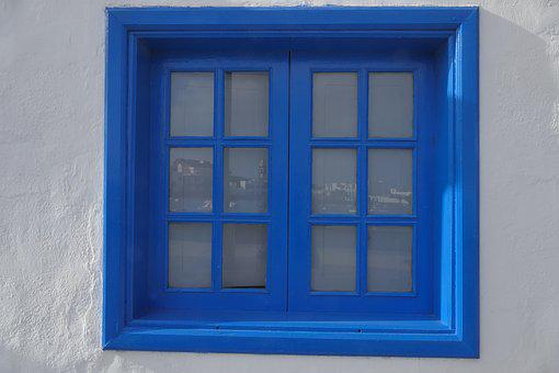 Window, House, Lake Dusia, Okiennica