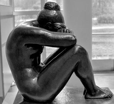 Escultura, Personas, Estatua, Mujer