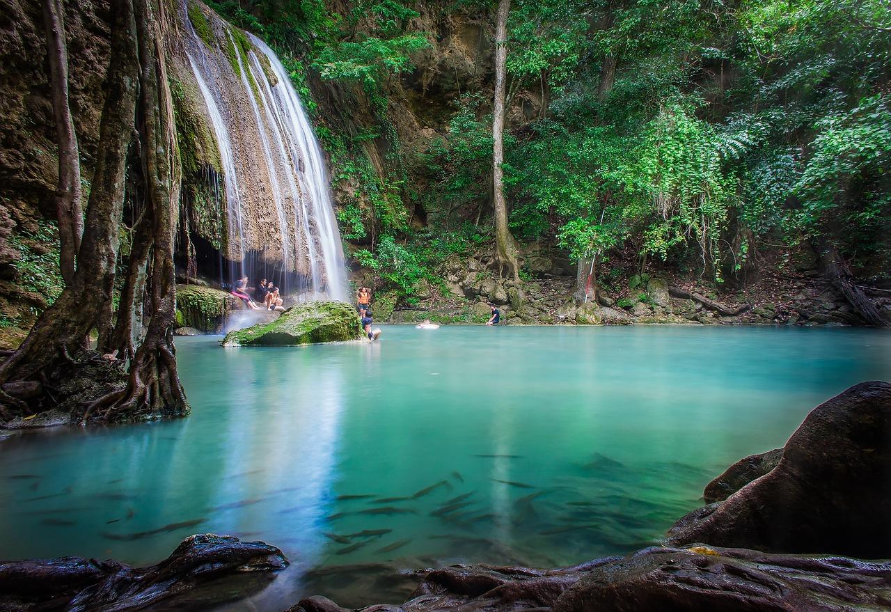 Waterfall Erawan - Free photo on Pixabay
