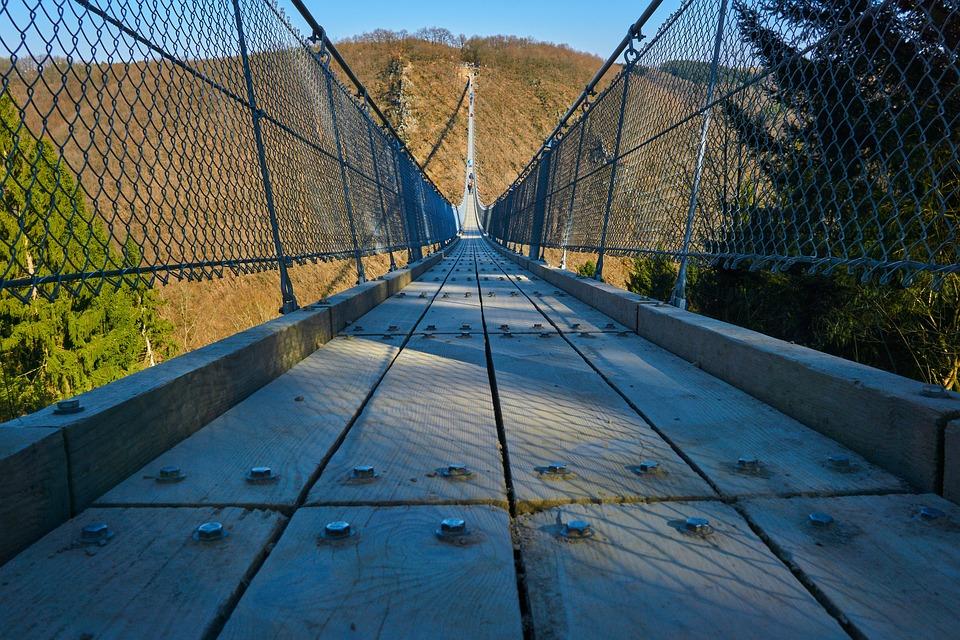 Brucke Zaun Stahl Kostenloses Foto Auf Pixabay