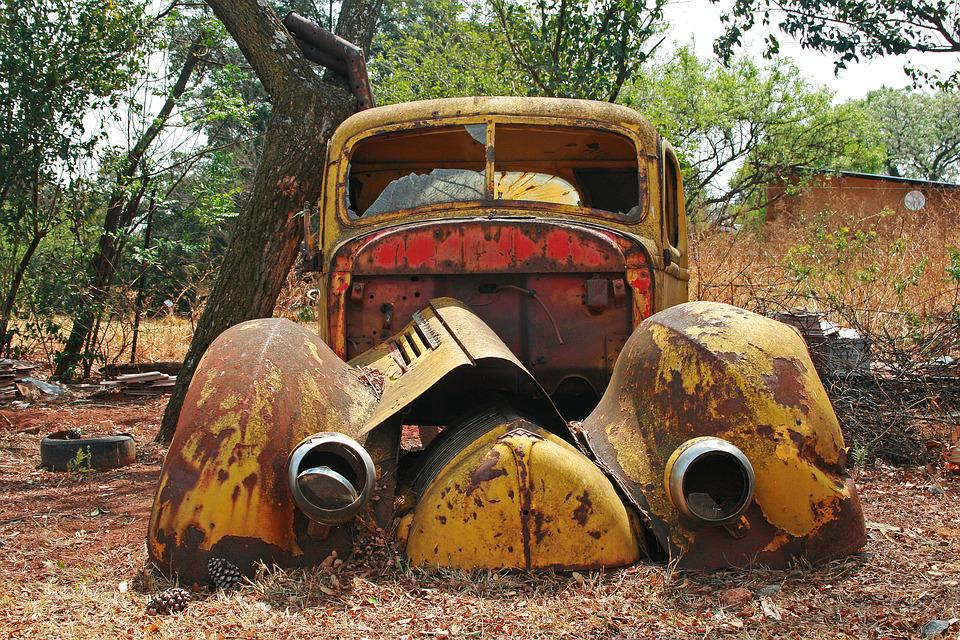 Car Wreck Old Rusty · Free photo on Pixabay