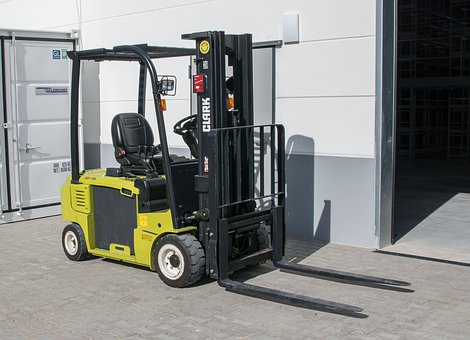 Machine, Forklift, Logistics, Transport