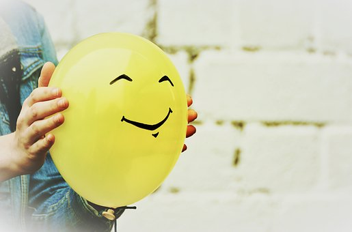 Balloon, Smiley, Smile, Joy, Fun