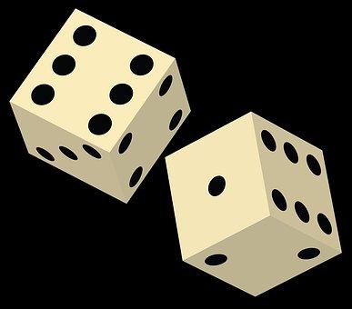 Gambling, Chance, Dice, Casino, Risk