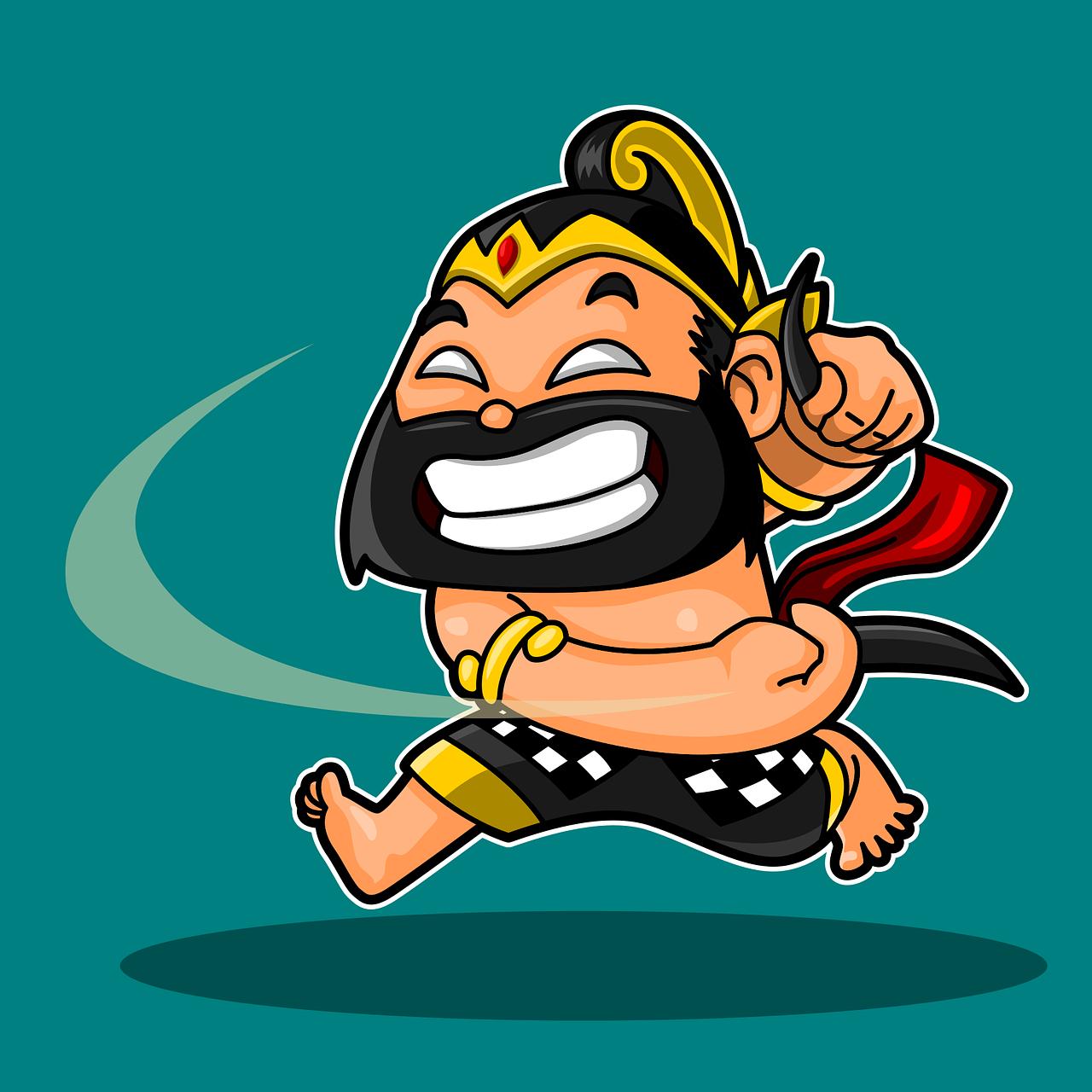 bima werkudara wayang free vector graphic on pixabay https creativecommons org licenses publicdomain