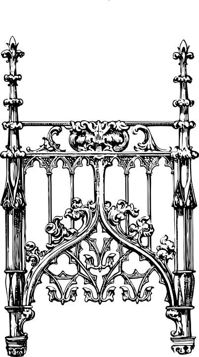 Frame Decorative Fence · Free vector graphic on Pixabay