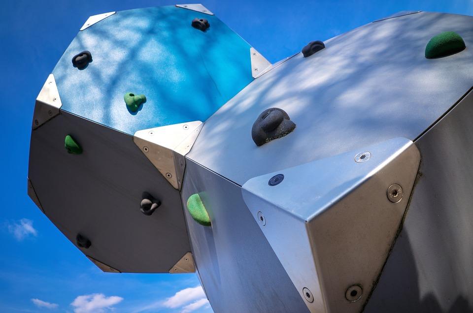 Klettergerüst Metall Spielplatz : Spielplatz benzen