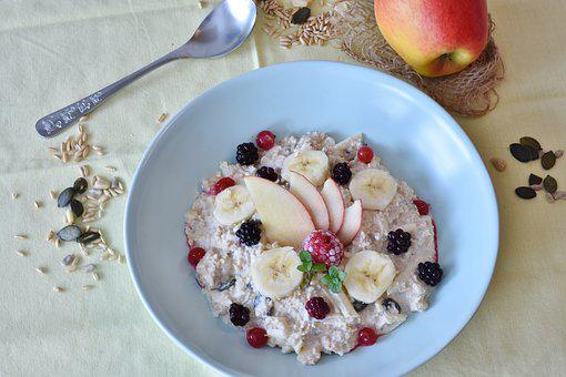Muesli, Porridge, Breakfast, Healthy