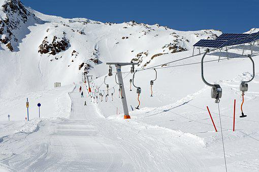 Ski Lift, Skiing, Winter, Ski Area