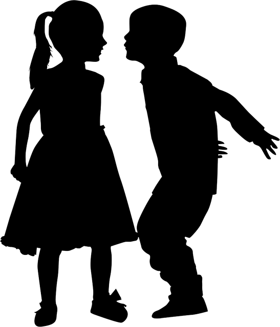 Love The Mother Child Silhouette: Silhouette Kids Boy · Free Image On Pixabay
