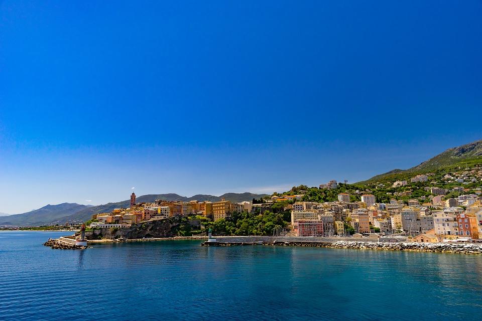 Travel, Waters, Coast, Sea, Architecture, Corsica