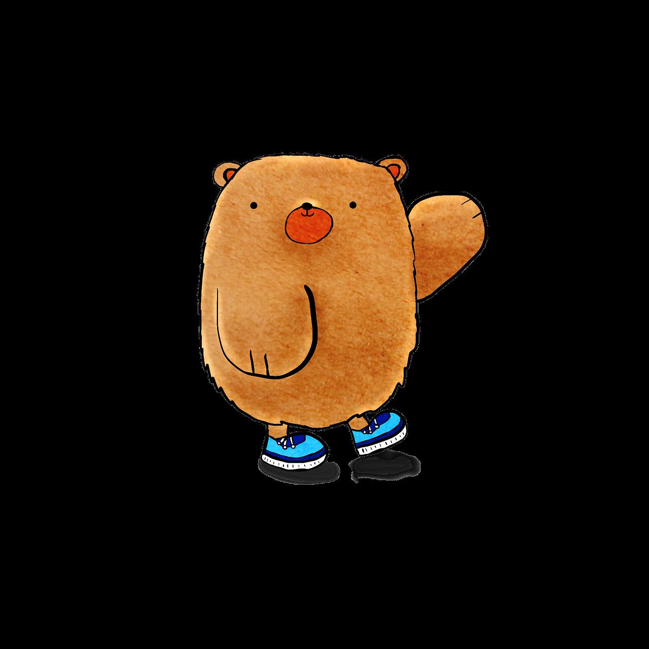 Bear Cute Cartoon Free Image On Pixabay