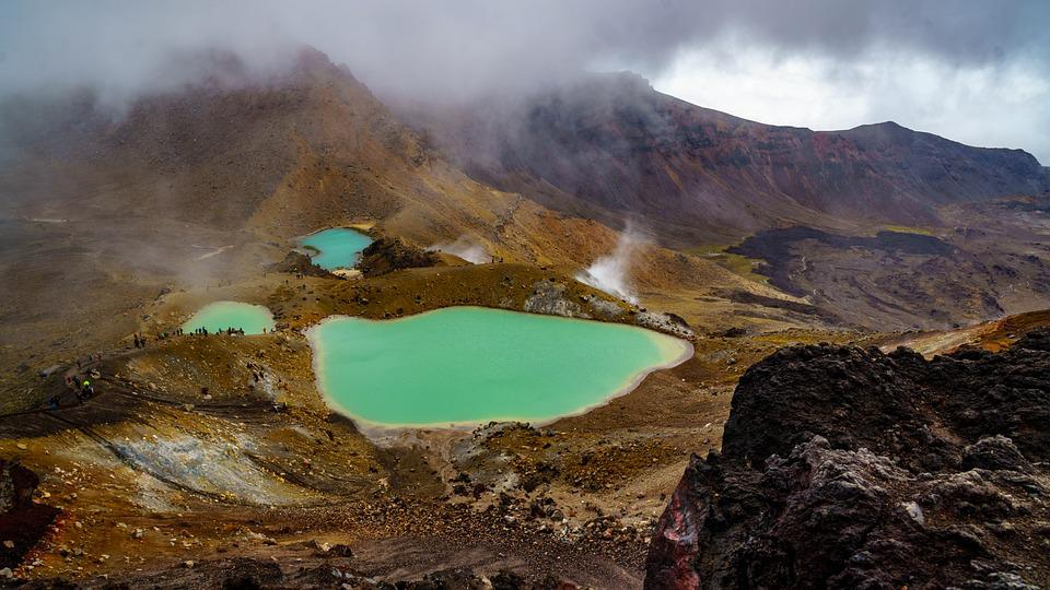 Tongariro National Park - Tongariro Alpine Crossing