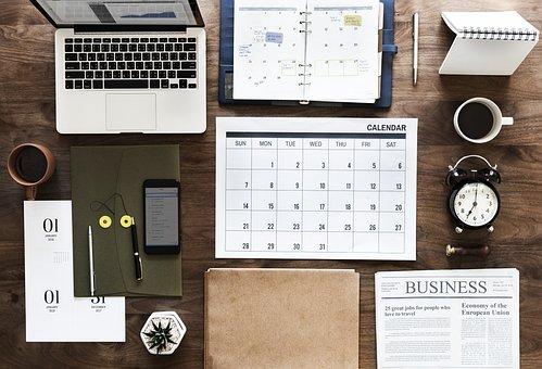 Bisnis, Kertas, Kantor, Udara, Agenda