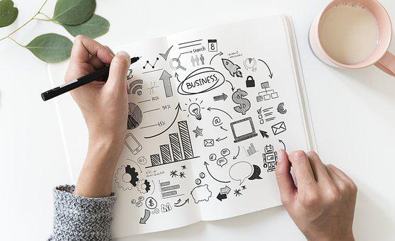 Hand, Business Plan, Business, Designer