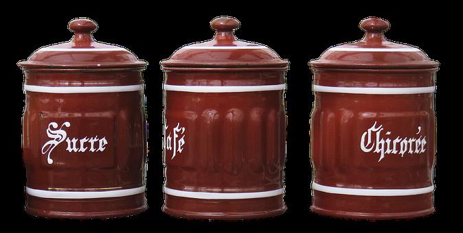 Steingut, Topf, Behälter, Keramik