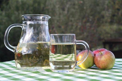 Apple, Drink, Fruit, Glass, Food, Apple Cider Vinegar