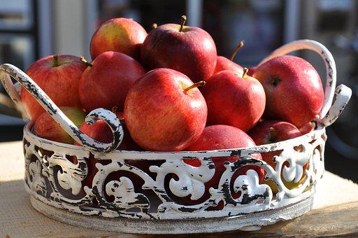 Apfel, Frucht, Lebensmittel, Gesund