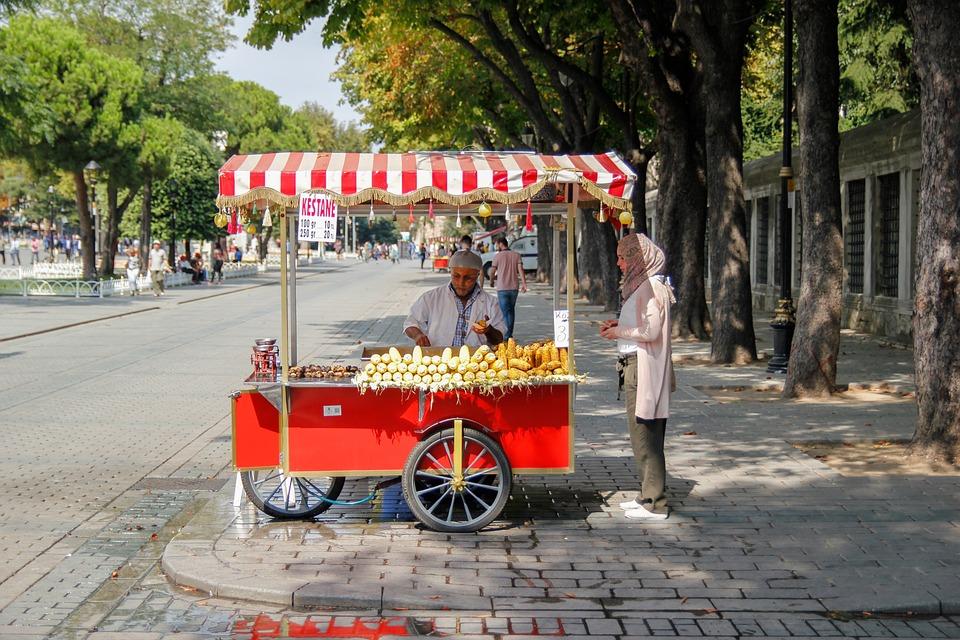 Isztambul, Konstantinápoly, Törökország, Street, City