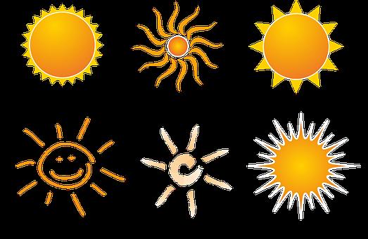 Sonne, Strahlen, Sommer, Sonnenstrahlen