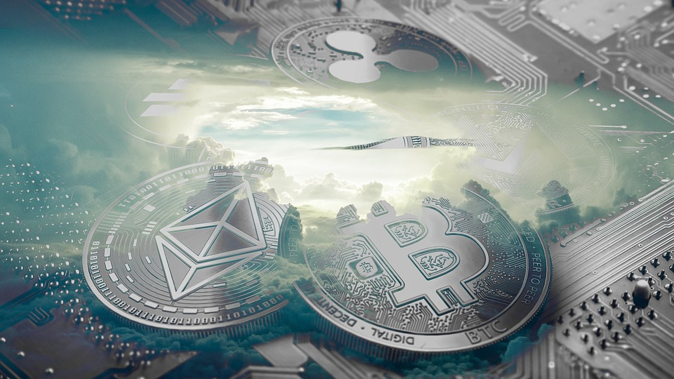 ビジネス, Bitcoin, 技術, お金, 通貨, Exchange