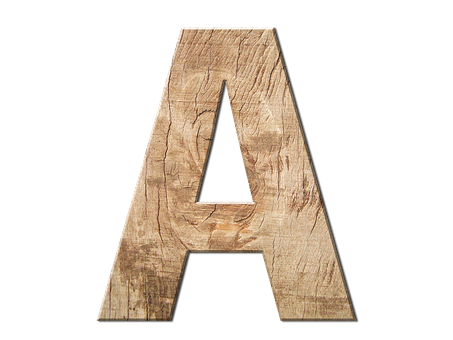 Letters, Abc, Wood, Grain