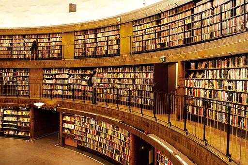 Plateau, Bibliothèque, La Bibliothèque