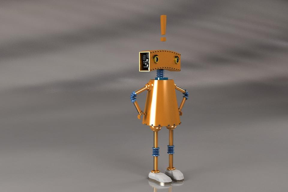 Robot 3D - Free image on Pixabay