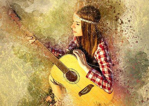 c78103fc1f8cd 100+ Free Guitar Girl   Guitar Images - Pixabay