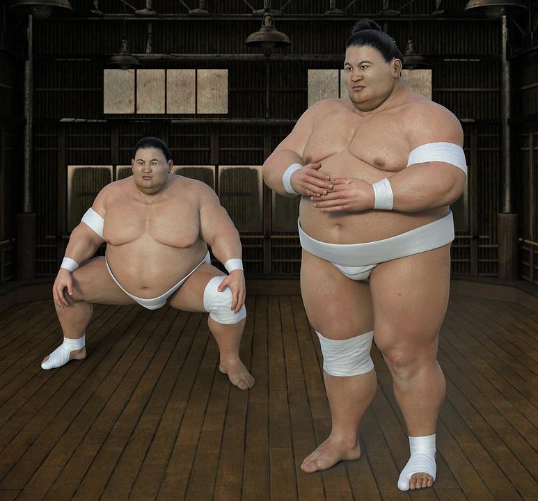 Sumoringer, 運動選手, レスラー, ホール, スポーツ, 太りすぎ, 相撲, 男, Sumō, 厚